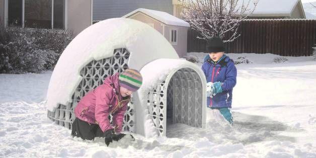 L'invention québécoise pour construire un igloo qui ne s'effondre pas
