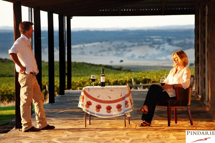 Join us on the verandah for a glass of wine & spectacular views of the Barossa Valley, South Australia