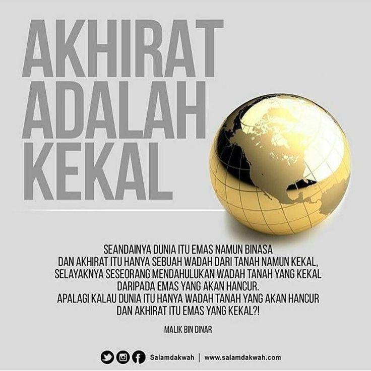 Salamdakwah _ Saudaraku semua kenikmatan di dunia ini pasti akan sirna. Sedangkan yang ada di sisi Allah itulah yang akan kekal. Namun sayangnya betapa banyak yang terlena dengan dunianya yang nanti akan sirna lalu lebih mementingkan kehidupan kekal yang ada di akhirat. Allah Taala berfirman Apa yang di sisimu akan lenyap dan apa yang ada di sisi Allah adalah kekal. (QS. An Nahl: 96). Segala sesuatu yang kita miliki pasti akan sirna baik diri kita sendiri keluarga dekat kita dan harta kita…