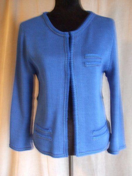 Giacche corte - giacca maglia cotone o lana donna - un prodotto unico di dorazimorena su DaWanda