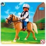Caballo Haflinger Playmobil 5109