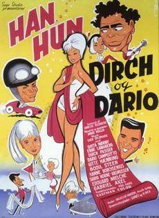 Han, Hun, Dirch og Dario (1962) Hun flytter hjemme fra, da hun tro han har en anden.
