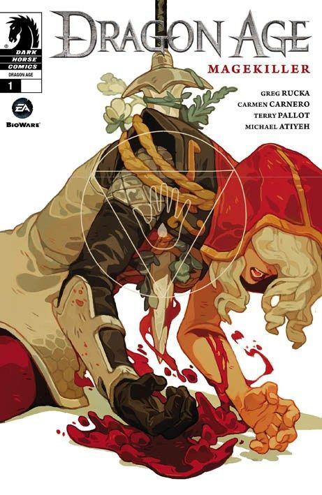 """Dragon Age: Magekiller"" 1 (2015) Cover di Sachin Teng #DarkHorseComics #GregRucka #DragonAge"