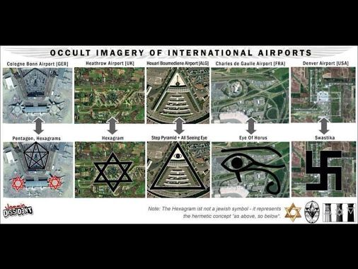 Our occult rulers designed our cities on ley lines and ancient pagan occult…