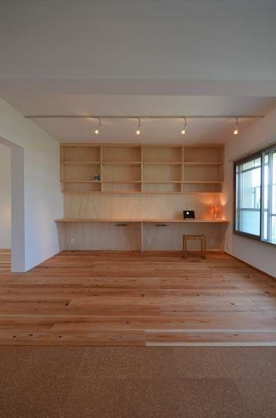 『杉床とコルクタイルを使った団地断熱リノベーション』兵庫県神戸市垂水区 | 木のマンションリフォーム・リノベーション設計実例 | 木のマンションリフォーム・リノベーション-マスタープラン一級建築士事務所
