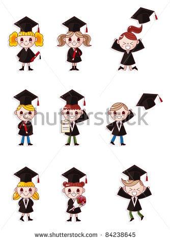 Cartoon Graduate students Graduation images Hand
