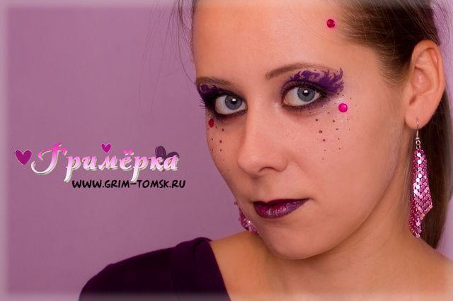 Аквагрим, грим, Макияж + аквагрим face painting, make-up, Makeup + akvagrim