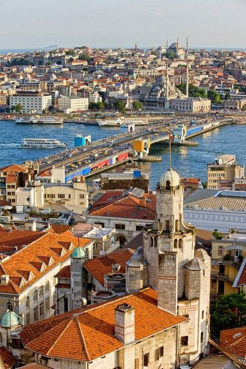 Istanbul, Turkey - half is in Europe - the other half is in Asia - no other city has that distinction.