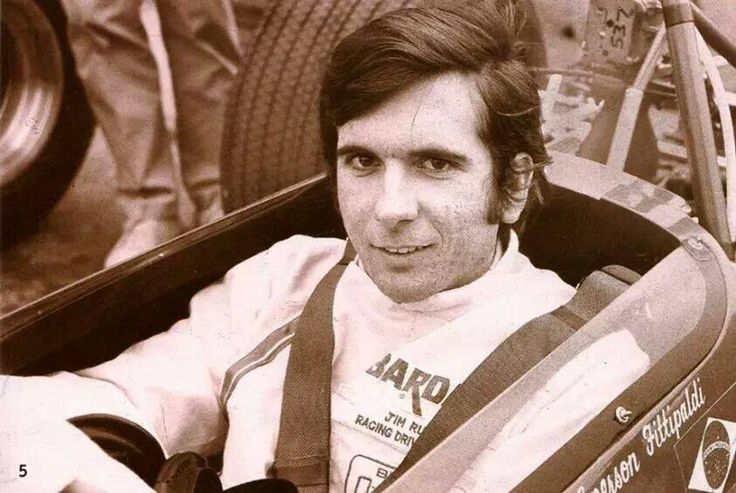 Young Emerson Fittipaldi 1968