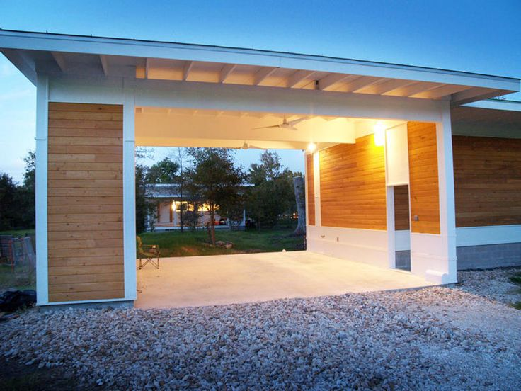 28 best images about carports on pinterest carport ideas for Modern houses for sale austin