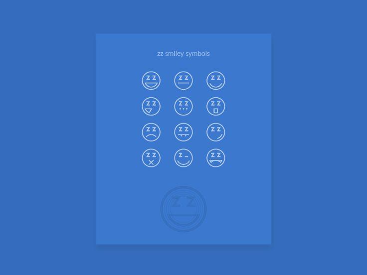 zz smiley symbols