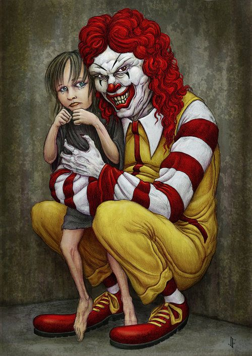 ew. badddd Ronald..have always thought he was a creepster :/