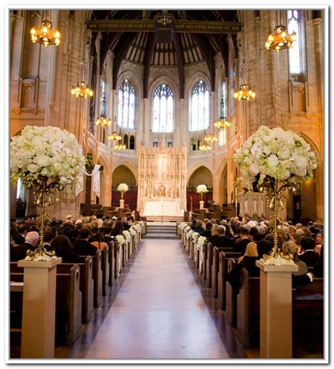Simple Church Wedding Decorations: Top 25 Ideas About Church Ceremony Decor On Pinterest