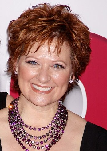 Caroline Manzo-Short Haircuts for Thick Hair l www.sophisticatedallure.com