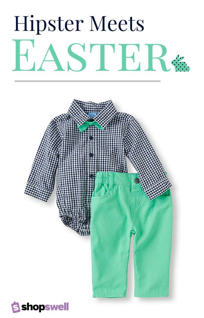Hip, fun Easter fashion for your little one. Click through to find the latest in spring fashion for your little hipster.