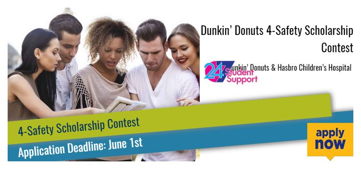 Dunkin' Donuts 4-Safety Scholarship Contest