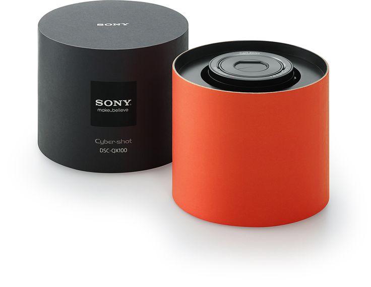 Sony Japan | Sony Design | Feature Design | DSC-QX100 / DSC-QX10
