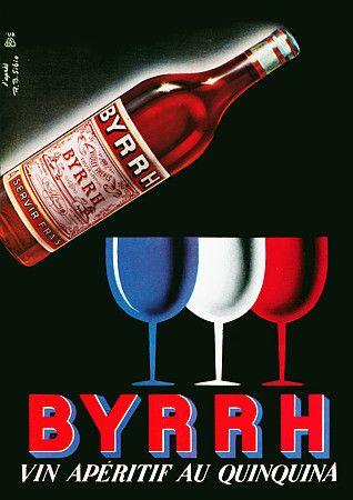 Byrrh Wine Aperitif. 1953…