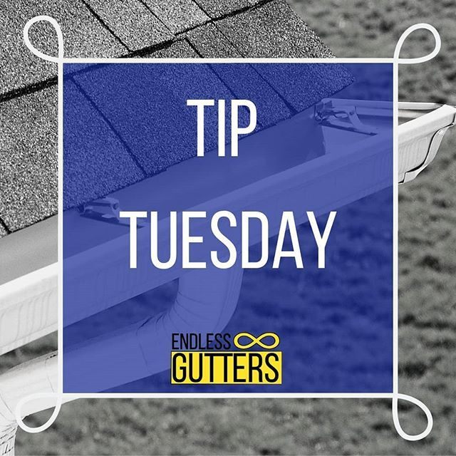 Tiptuesday It S Important To Have A Professional Clean The Downspouts As Well Because A Clogged Down How To Install Gutters Seamless Gutters Cleaning Gutters