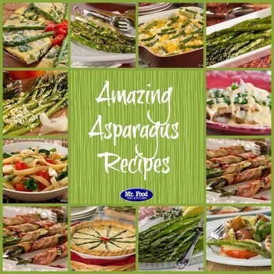 Amazing Recipes for Asparagus: 13 Baked Asparagus Recipes, Roasted Asparagus Recipes, and More | MrFood.com