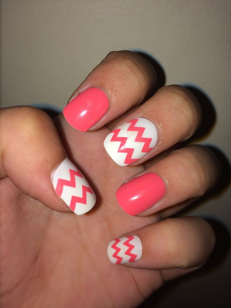 Dollar store fake nails- I would actually suggest the $8 Walmart ones, these kind of hurt, only provide one set (not too comfortable) and no glue or stickers. But the design was fun.