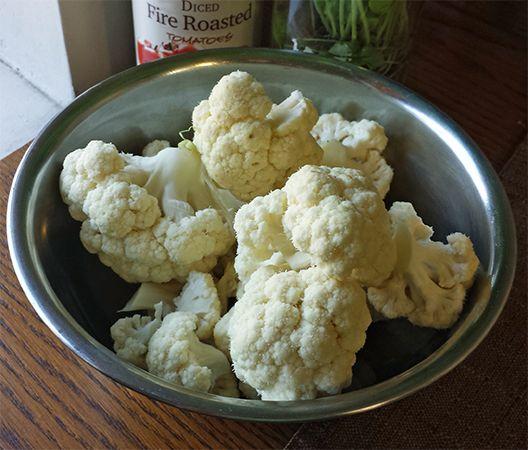 Coliflor - Cauliflower
