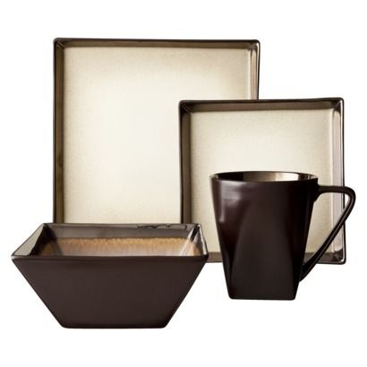 Super Square!  like the shape of the bowl  <3 the mug + handle