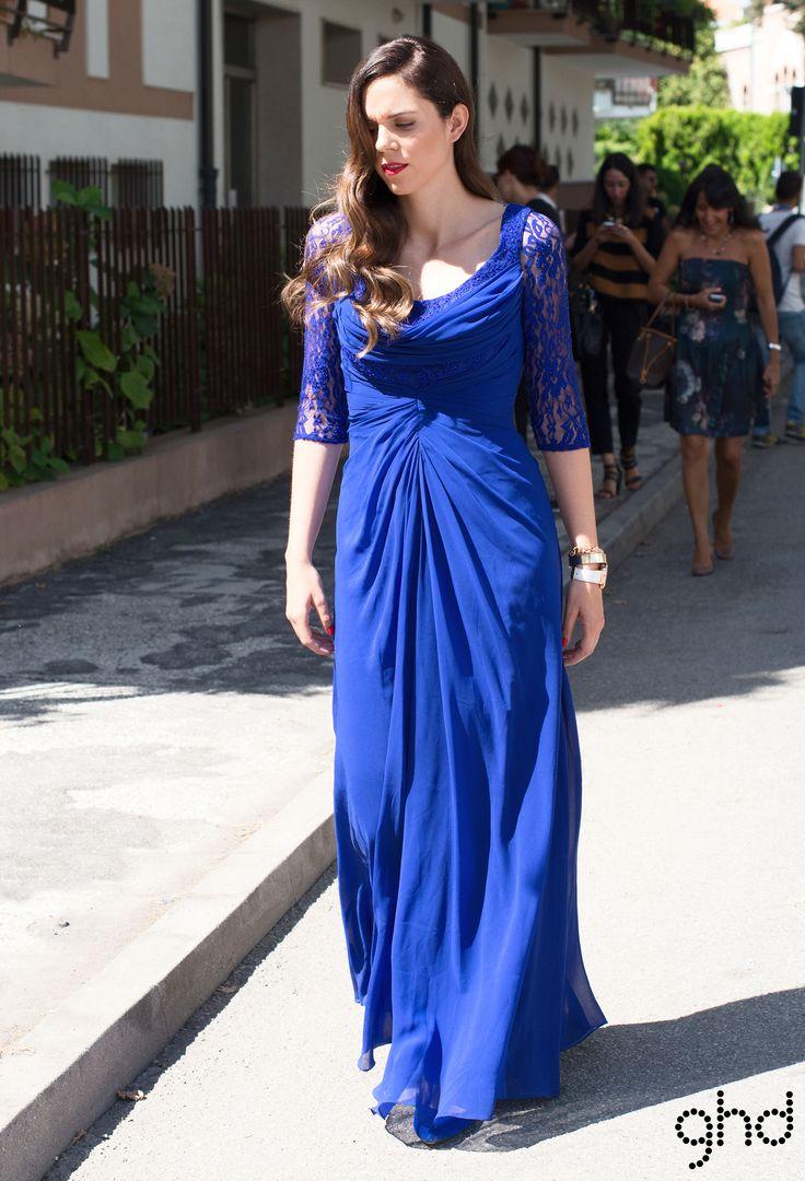 Irene Colzi  #redcarpet #venice71 #ghd