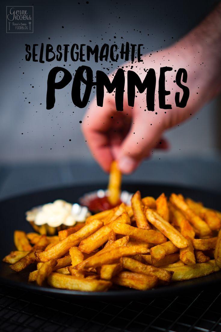 Pommes sind einfach lecker. Wir haben uns der Herausforderung gestellt und unsere Pommes heute einmal selbstgemacht. Herausgekommen sind diese goldgelben, superleckeren Pommes frittes.  #pommes #chips #selbstgemacht #homemade