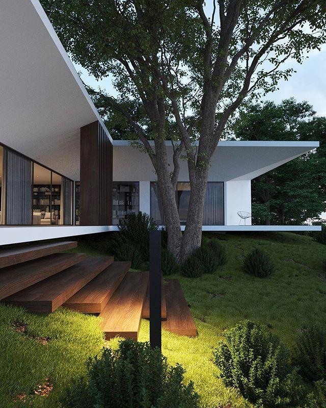 Roman Vlasov sur Instagram : House | 150 square meters ...