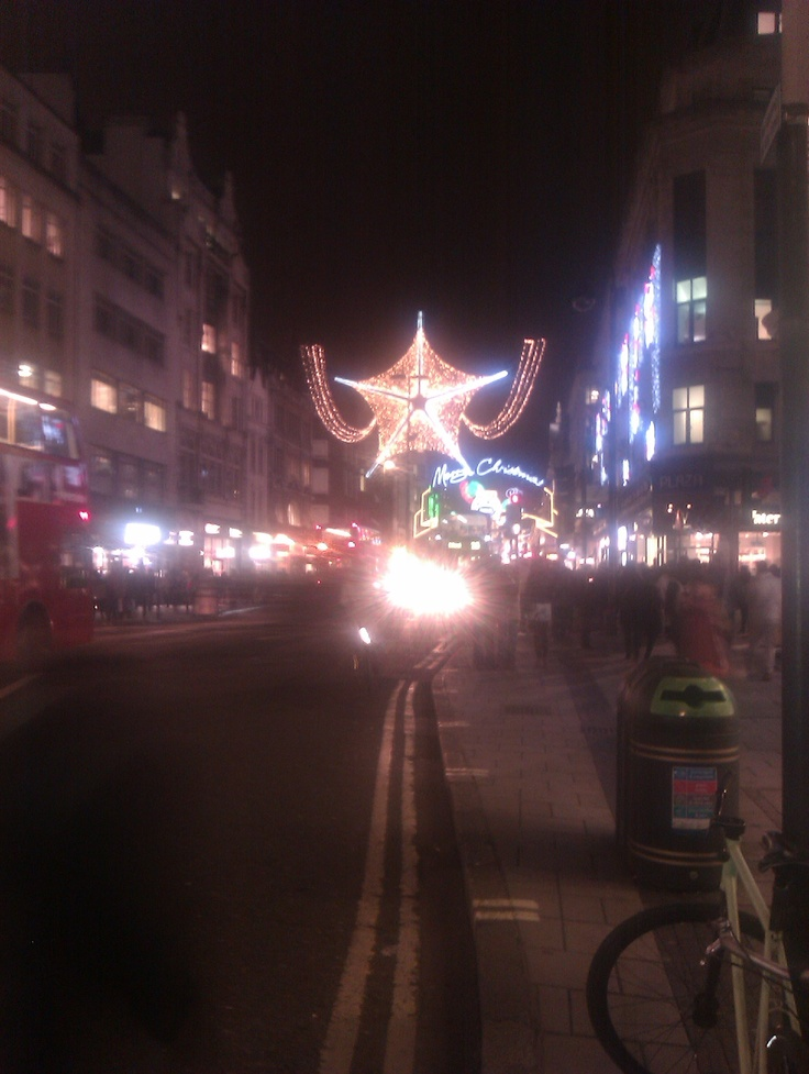 Oxford Circus Xmas Decorations 2