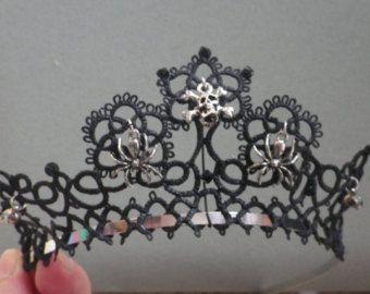 Tatted tiara