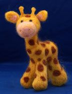 Terrific page on how to needle and wet felt tons of adorable little critters and other assorted what-nots! :)