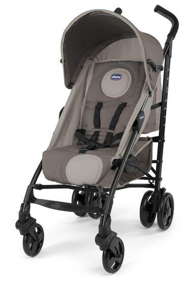 Carrinho de Bebê Guarda-Chuva Lite Way Basic Dune Bege Chicco
