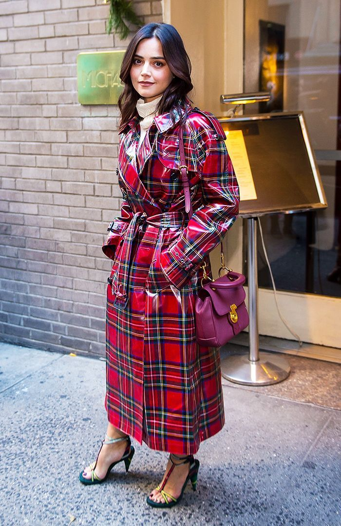 Image result for Plaid Raincoats