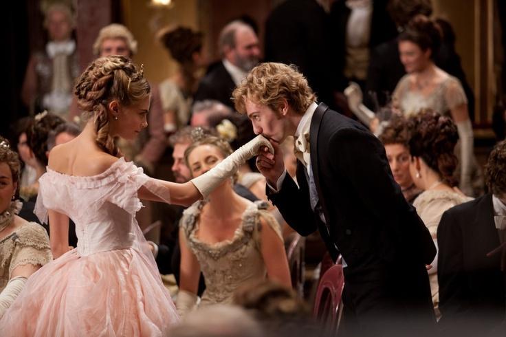 Cara Delevingne & Aaron Taylor-Johnson in Anna Karenina