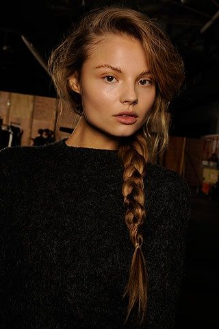 Hunger Games bridal hairstyle idea Hunger Games Wedding hairstyle games | hairstyles: Fashion, Hairstyle Ideas, Beautiful, Bridal Hairstyles, Hunger Games, Alexander Wang, Hairstyles Ideas, Side Braids, Magdalena Frackowiak