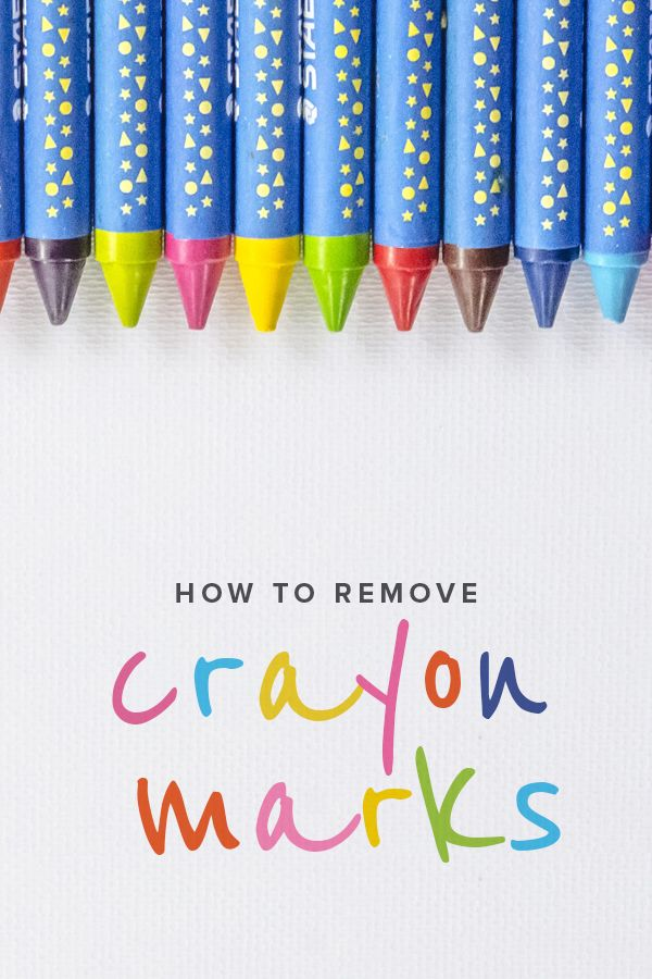 17 best images about parenting tips on pinterest today show dads and mom - Remove crayon walls ...