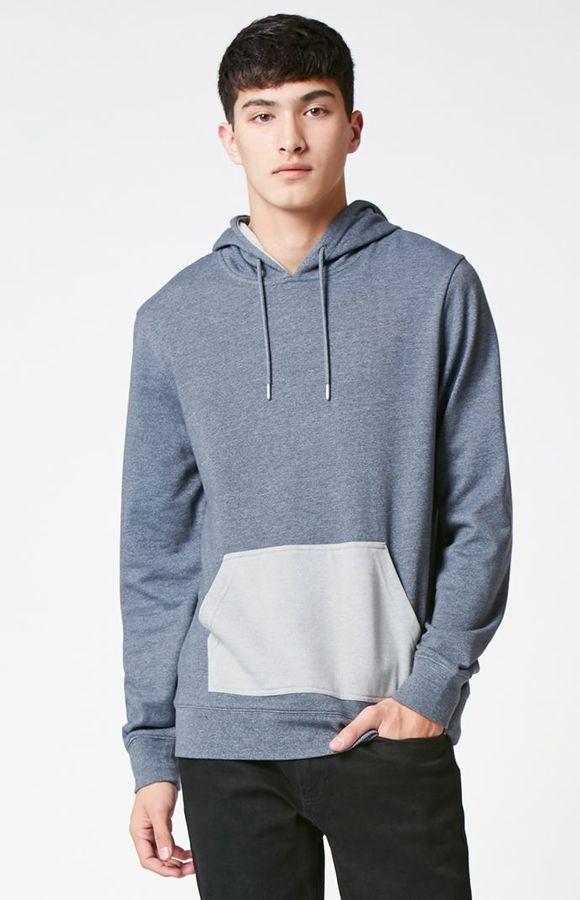 PacSun Hunab Hooded Long Sleeve T-Shirt