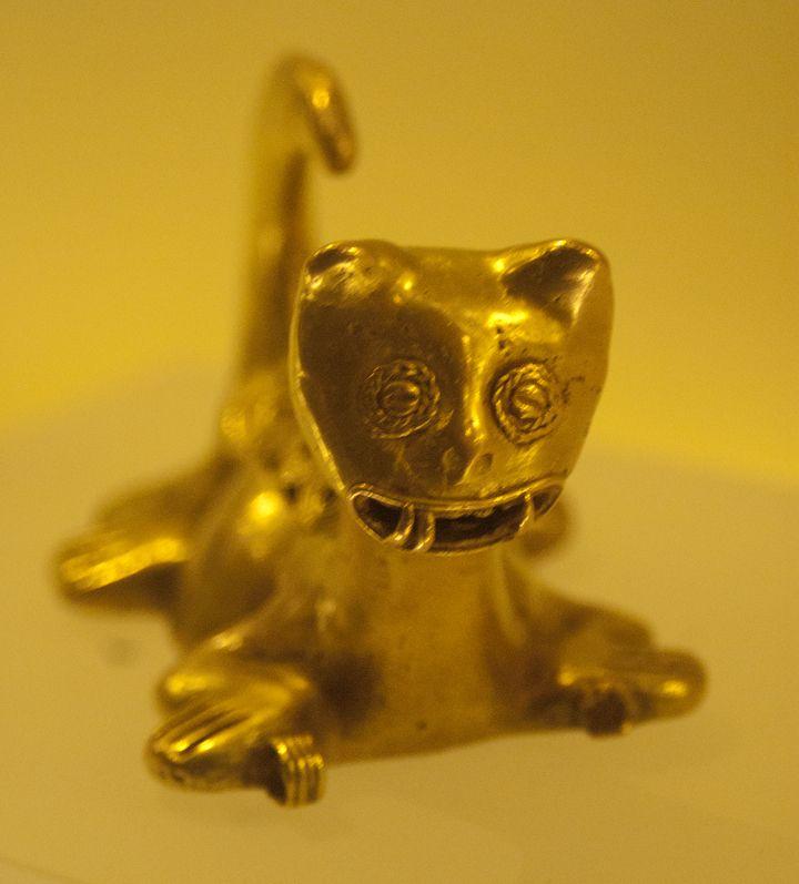 Gold museum pre-hispanic
