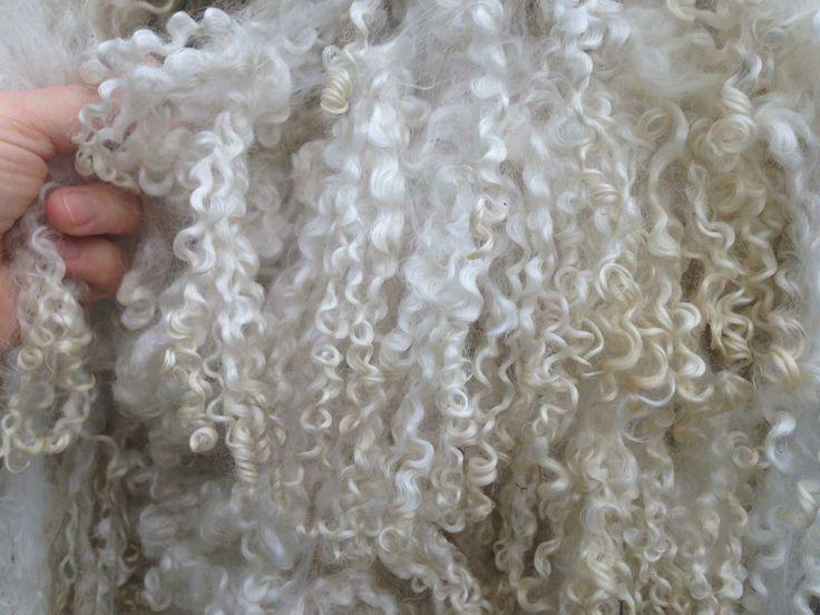 Wensleydale wool