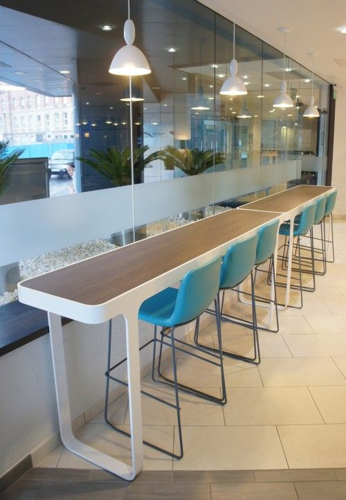 Trace Breakout Area  #commercial #lounge #office