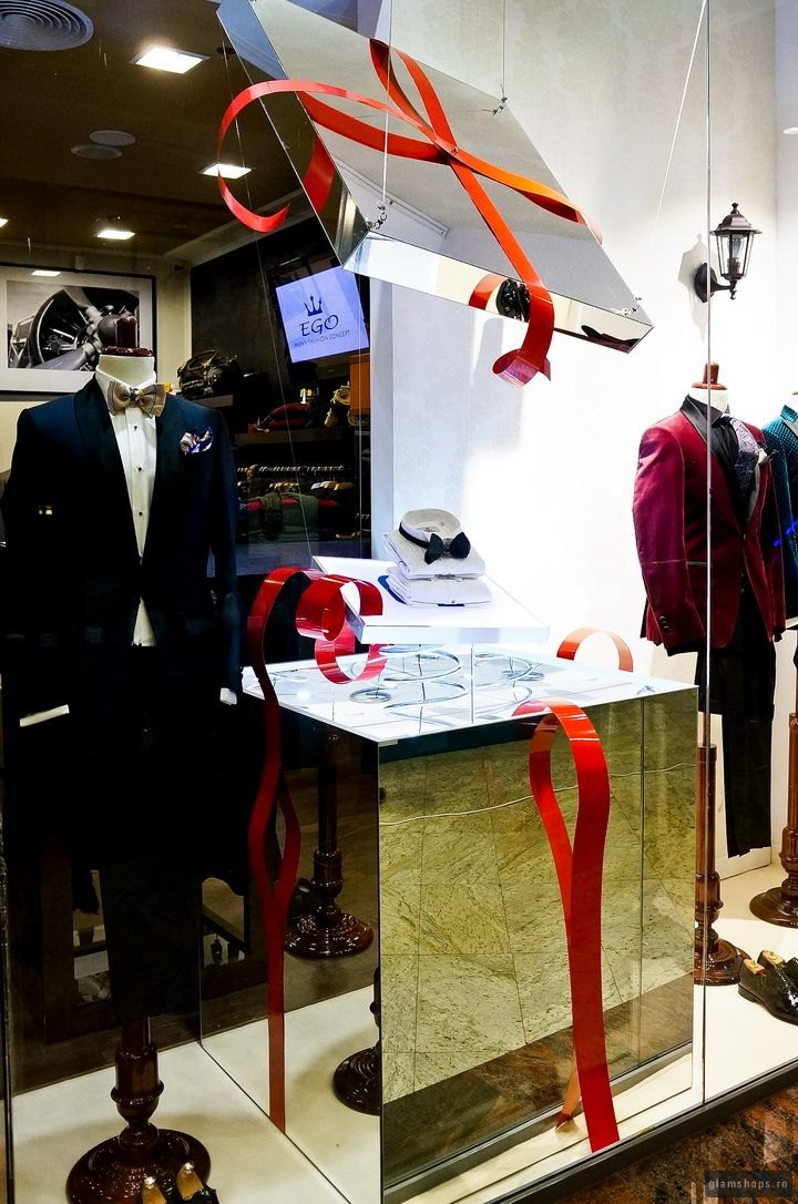 SUPRISE BOX FOR EGO MEN'S FASHION CONCEPT IN BUCHAREST BY GLAMSHOPS
