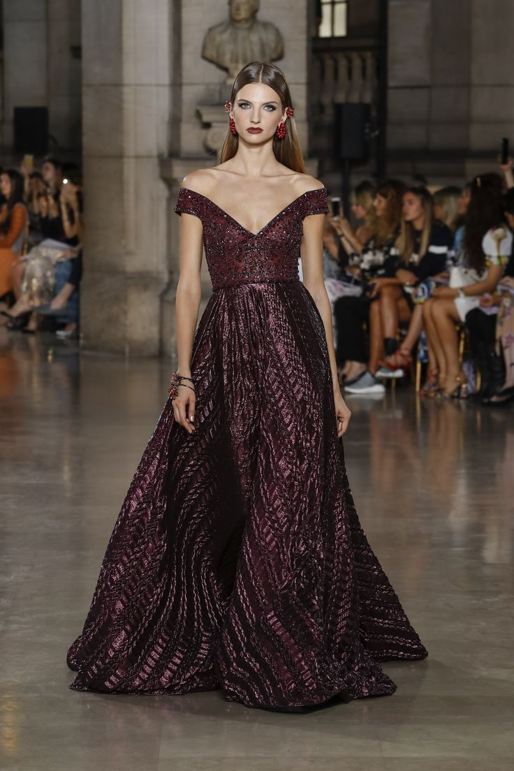 Georges Hobeika | Haute Couture Fall-Winter 2017-18 | Look 28