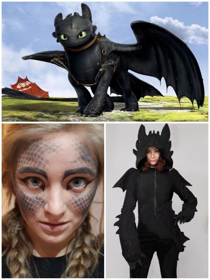 Toothless costume                                                                                                                                                                                 More
