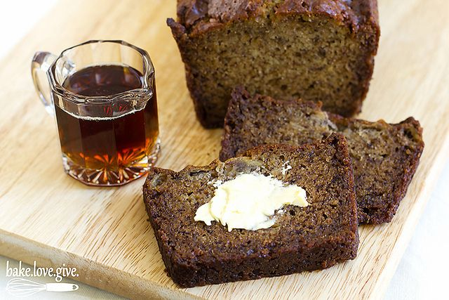 Maple banana bread | Recipe