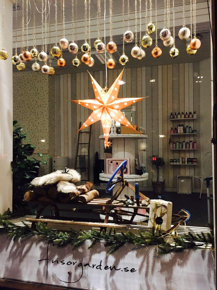 Julskyltning Frisörgården Sundsvall