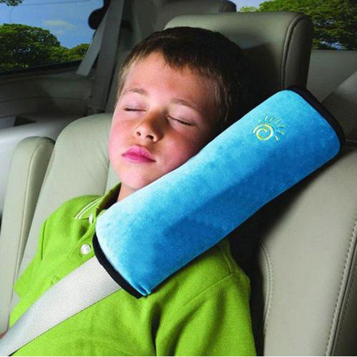 1 stücke Kinder/Kind Auto Weichen Kopfstütze Baby Fahrzeug Sicherheitsgurt Kissen Weichem Schulterpolster Kissen Hals sicherheitsgurt