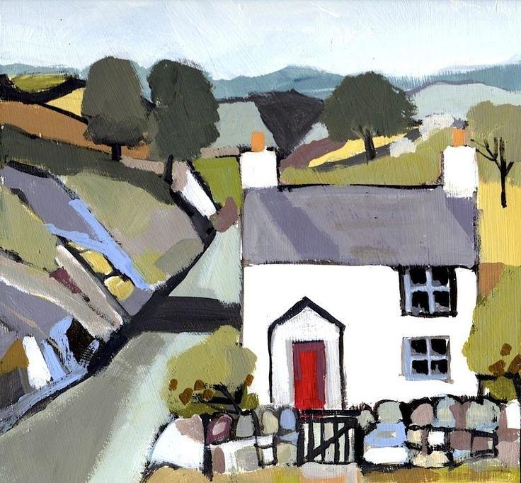 Welsh Cottage - by Annabel Burton