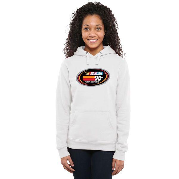 NASCAR Merchandise Women's NASCAR K&N Pro Series Logo Pullover Hoodie - White - $49.99
